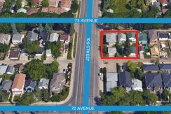 109 Street Re-Development Lots – 10839/45/49-73 Ave, Edmonton, AB