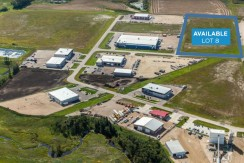 Clearview Industrial Park Lot 8 – Red Deer, AB
