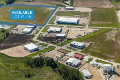 Clearview Industrial Park Lots 17-19 – Red Deer, AB
