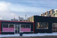 High Exposure Retail Space – 11521-107 Avenue, Edmonton, AB